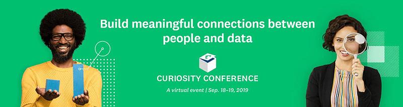 Survey Monkey's Curiosity Conference 2019